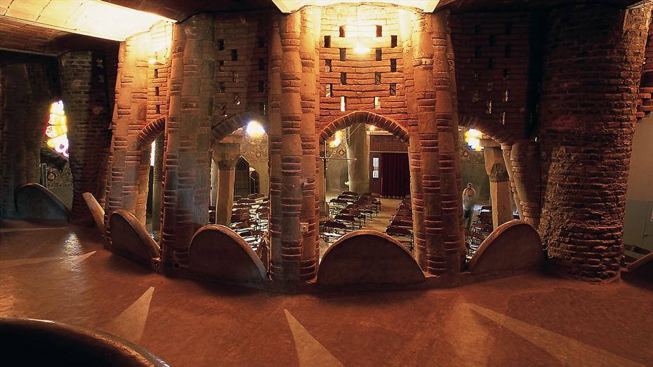 Colònia Güell - Cripta Gaudí