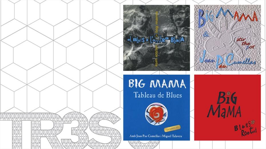 Pack Big Mama (total 4 cds)