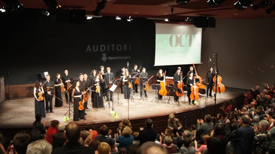 Concert Cristoforo Pestalozzi i l'orquestra de cambra de Tarragona