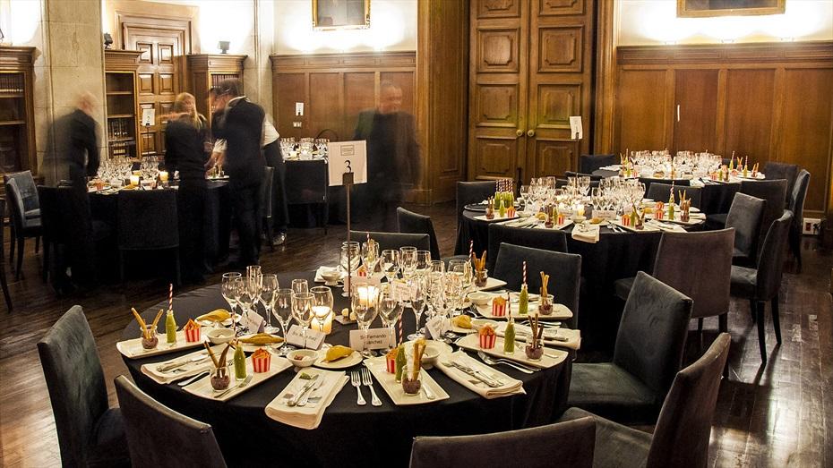 El sopar dels sentits a la Reial Acadèmia de Medicina
