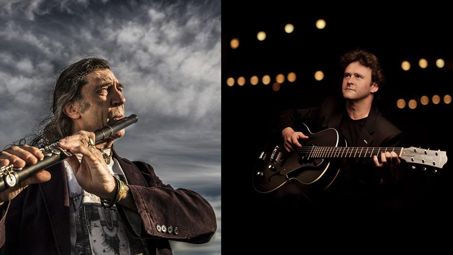 35 Festival Jazz Terrassa: Jorge Pardo & Sylvain Luc + Five in Orbit