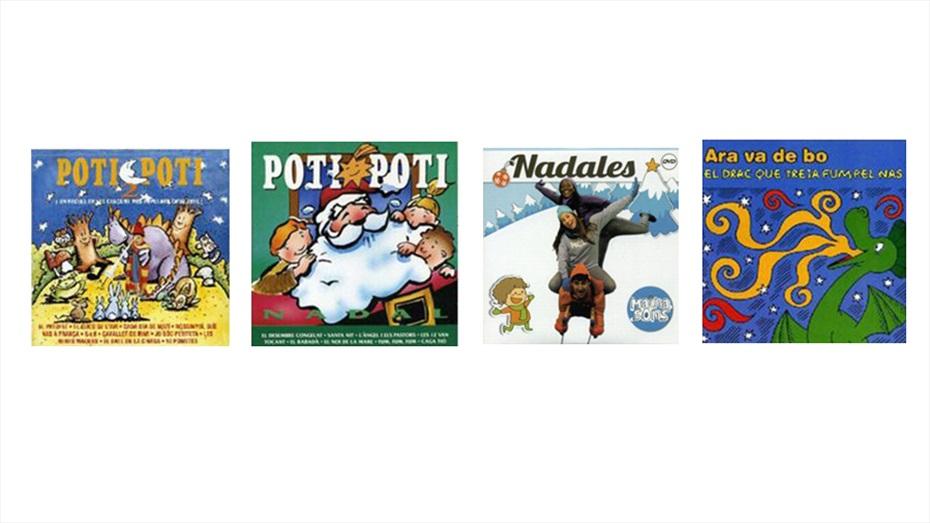 Pack: Cançons, contes i nadales per a infants