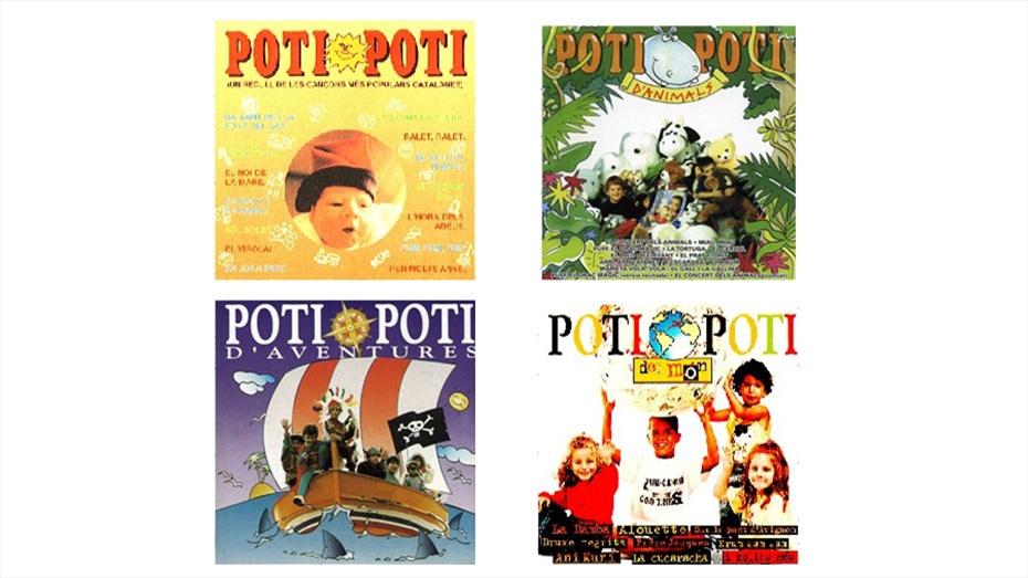 PACK POTI POTI 4 CDS