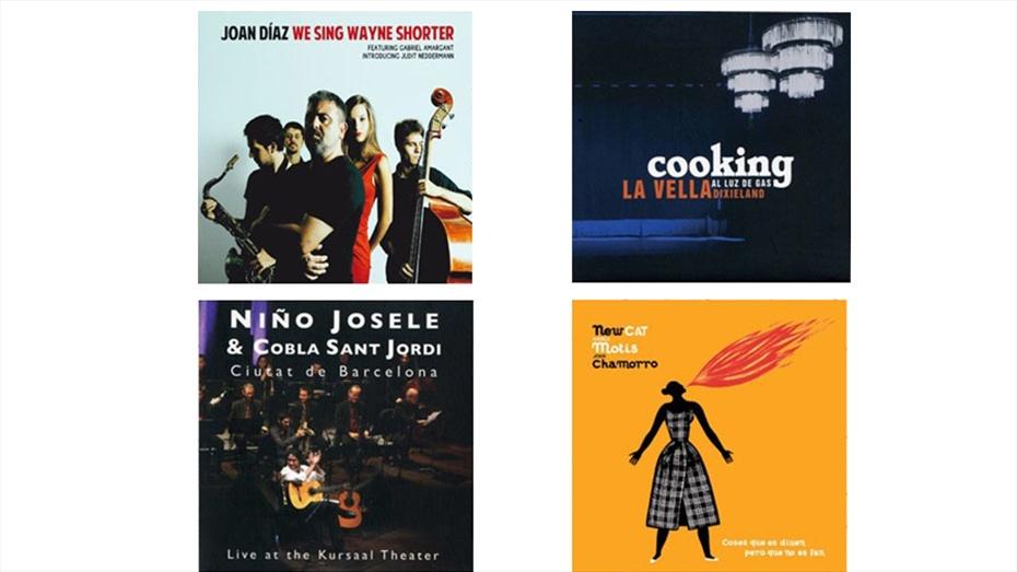 Pack Jazz, Andrea Motis, Flamenc amb la Cobla (4 CD'S)