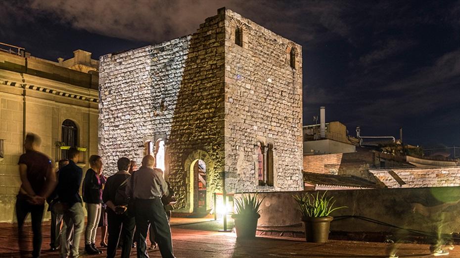 Visites guiades al Palau Requesens amb copa de cava i exhibició de lluita d'espases