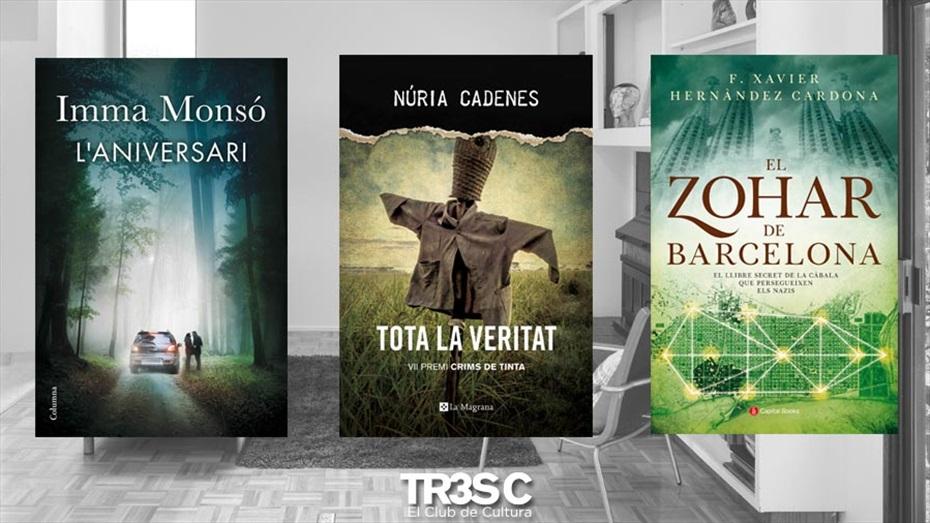 Llibres: El Zohar de Barcelona, L'Aniversari i Tota la veritat