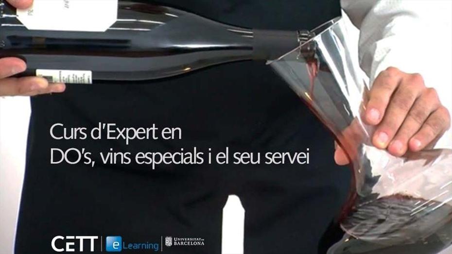 Curs d'expert en DO's, vins especials i el seu servei