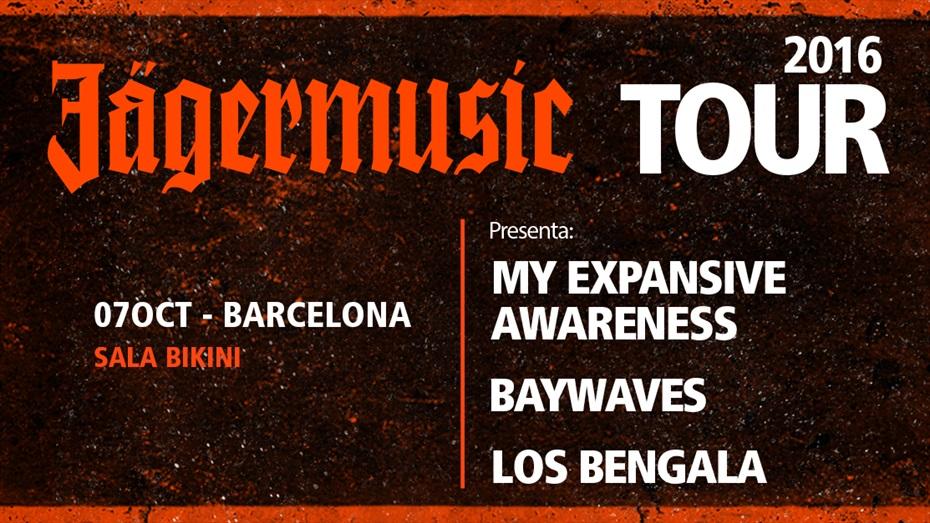 Jägermusic Tour 2016 a Barcelona