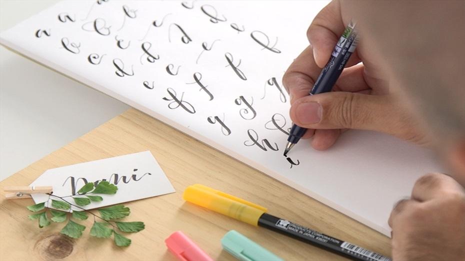 Curs online de lettering