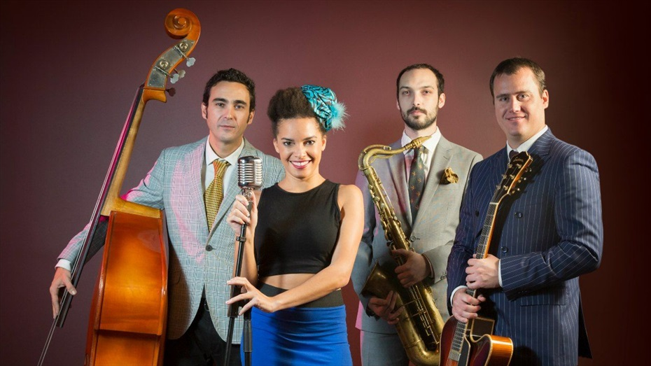 Jazz & Rouge: Saphie Wells & The Swing Cats + Restaurant El Càntir by Pere Malagelada + Celler Hugas de Batlle