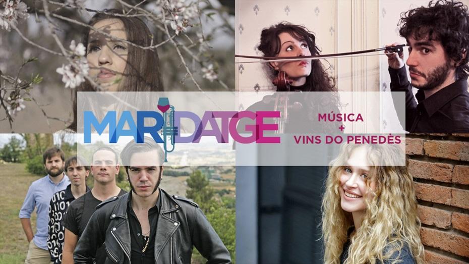 Maridatge enomusical amb vins de la DO Penedès - MMVV 2016