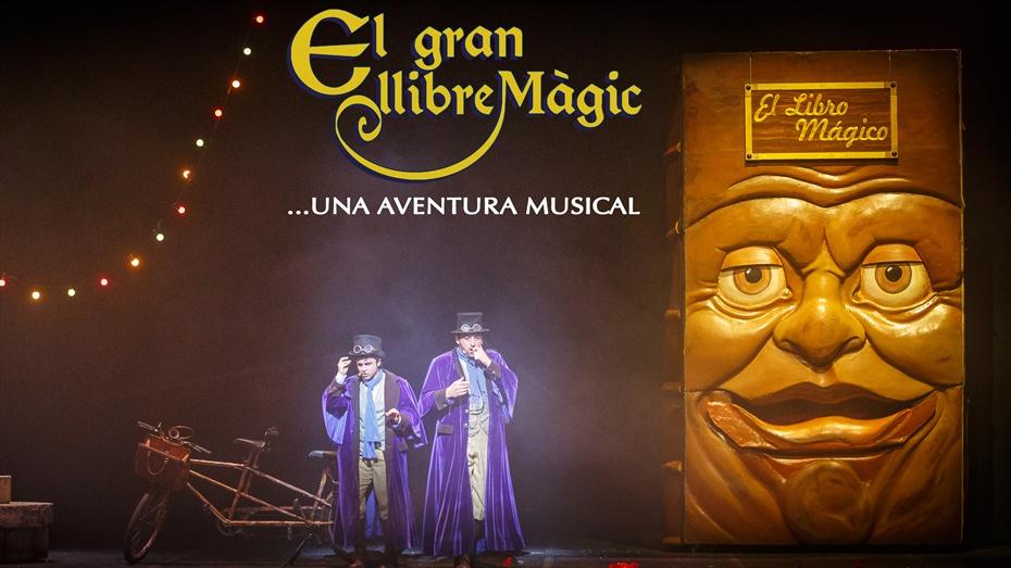 El gran llibre màgic/Cia. T-Gràcia - Ulldecona