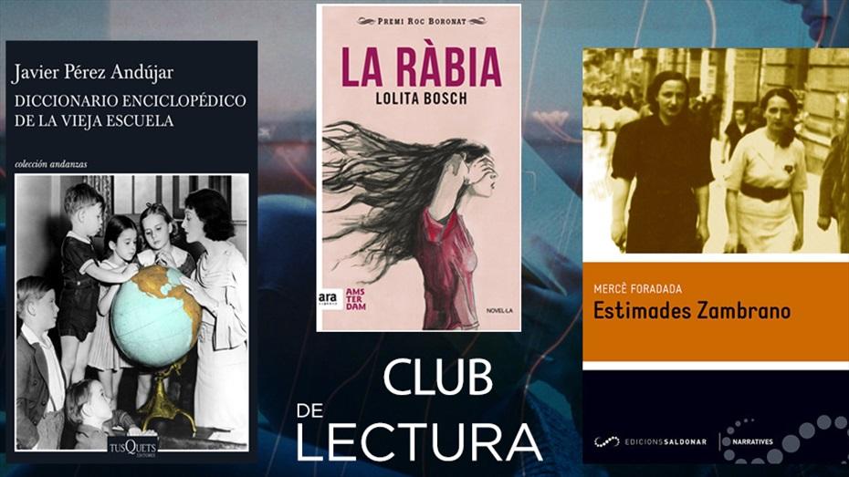 Club de lectura TR3SC: Octubre - Febrer