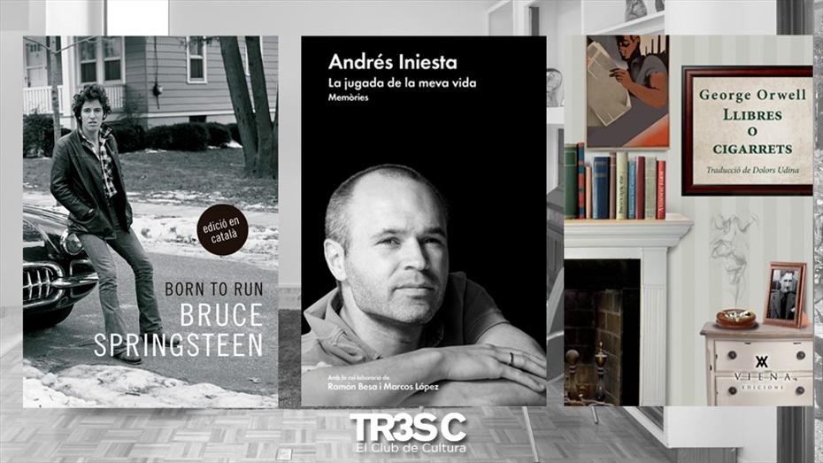 """Llibres: Born to run, Llibres o cigarrets i Andrés Iniesta """"La jugada de la meva vida"""""""