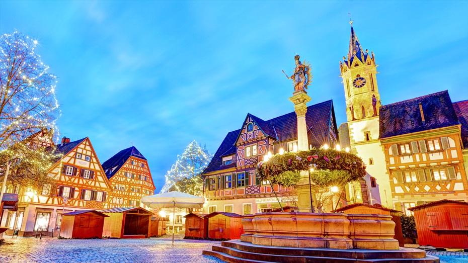 Mercats de Nadal en creuer fluvial per Alemanya i França