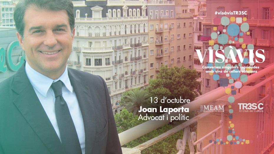 12è #VisàVisTR3SC amb Joan Laporta i caves Pere Ventura
