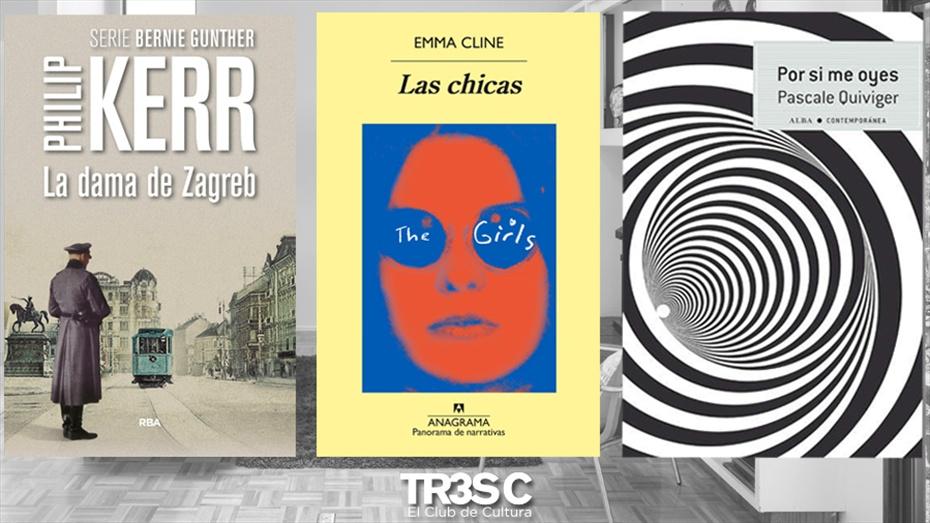 Llibres: Las Chicas, La Dama de Zagreb i Por si me Oyes