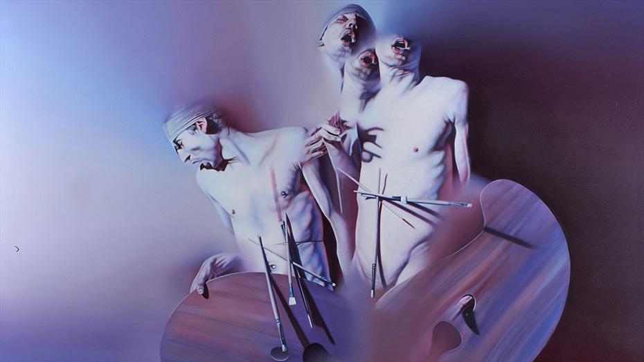 """Visita guiada a l'exposició """"La pintura no mor mai"""" d'Istvan Sandorfi"""