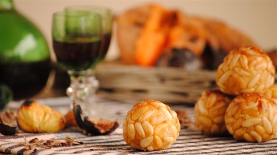 Hallowine: panellets, castanyes, moniatos & vi del Penedès