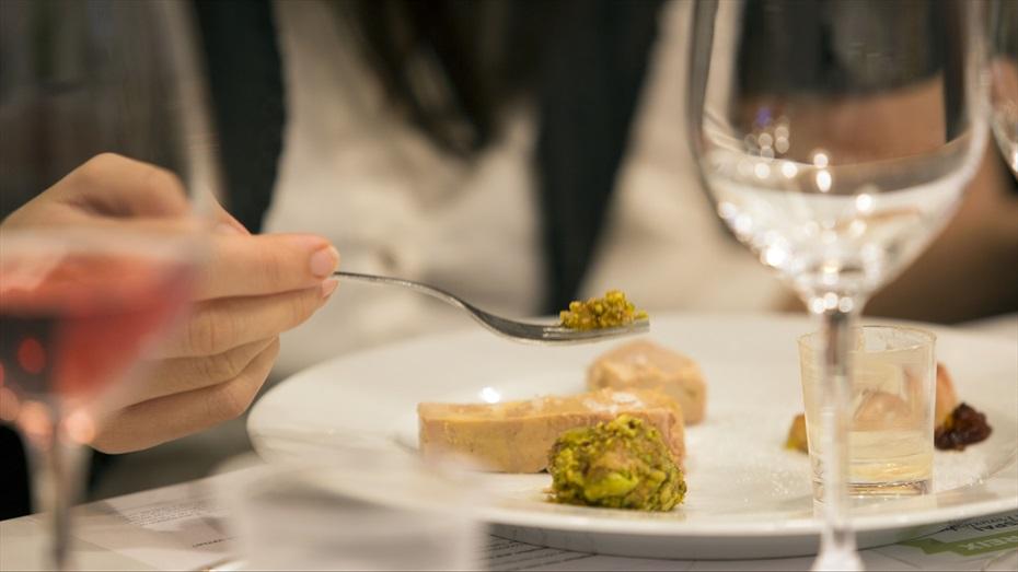 Foies amb vins i caves del Penedès