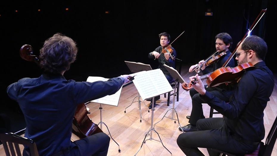 Concert del Quartet Idomeneo al Recinte Modernista de Sant Pau