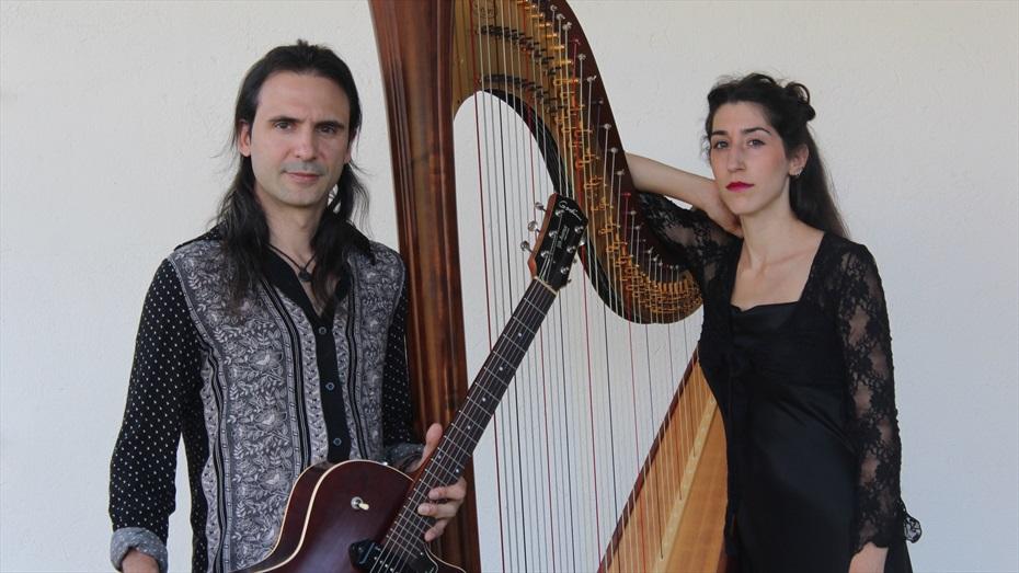 Concert a Sant Pau: Els quatre elements. Suite per arpa i guitarra