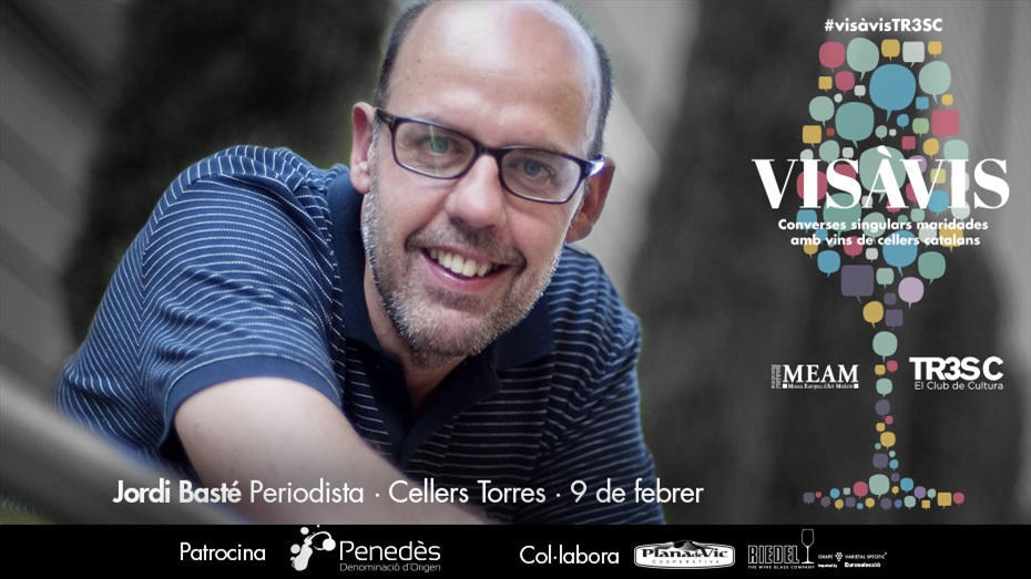 13è Vis à Vis TR3SC amb Jordi Basté i Cellers Torres