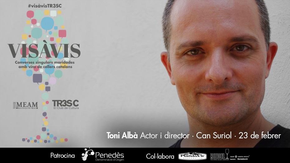 13è Vis à Vis amb Toni Albà i Can Suriol