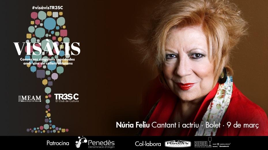 13è Vis à Vis TR3SC amb Núria Feliu i celler Bolet