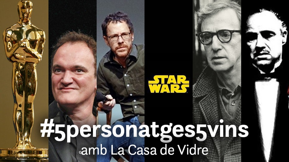 Cicle #5vins5personatges amb la Casa de Vidre