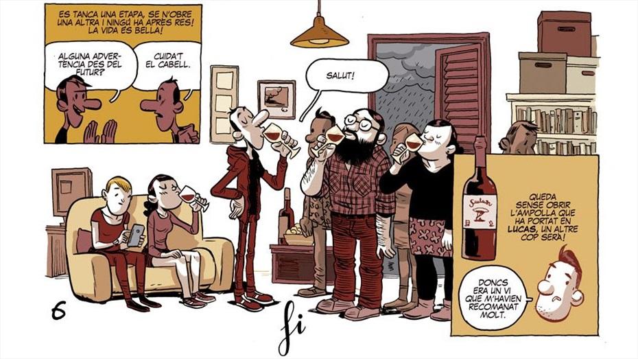 Maridatges TR3SC: Vi DO Catalunya, producte de mercat i còmics