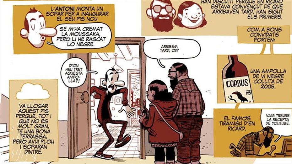 Maridatge TR3SC: Vi DO Catalunya, producte de mercat i còmics