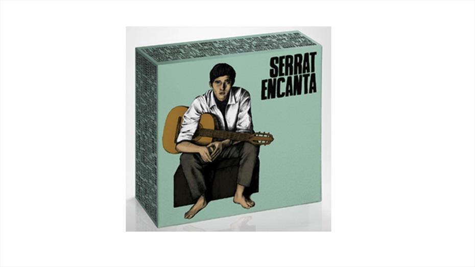 Pack Serrat Encanta (Inclou 10 Cds)