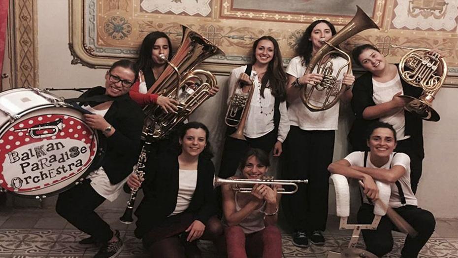 Balkan Paradise Orquestra - Festival Tradicionàrius de Folk Internacional 2017