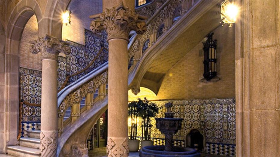 Cases singulars: Palau Baró de Quadras