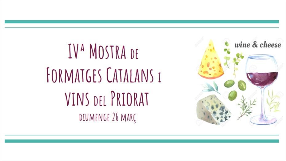 IVª Mostra de Formatges Catalans i Vins del Priorat
