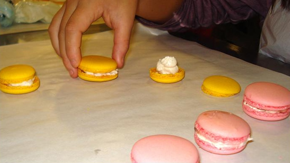 Taller de pastisseria infantil de macarons