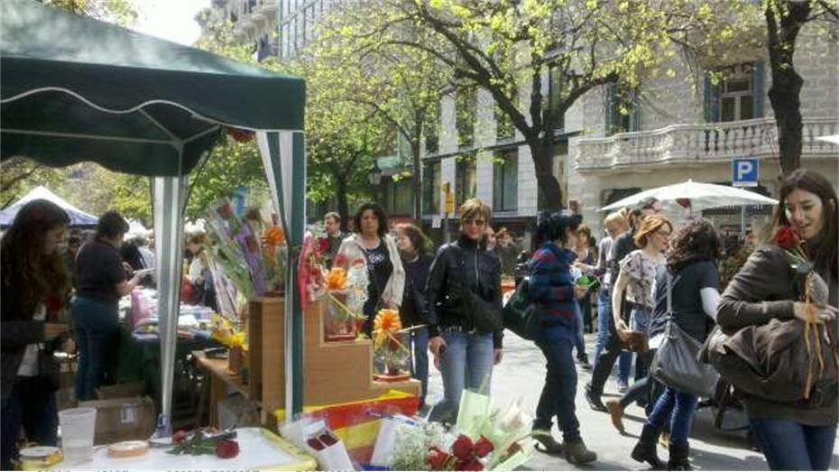 Materia Bcn: Ruta especial Sant Jordi