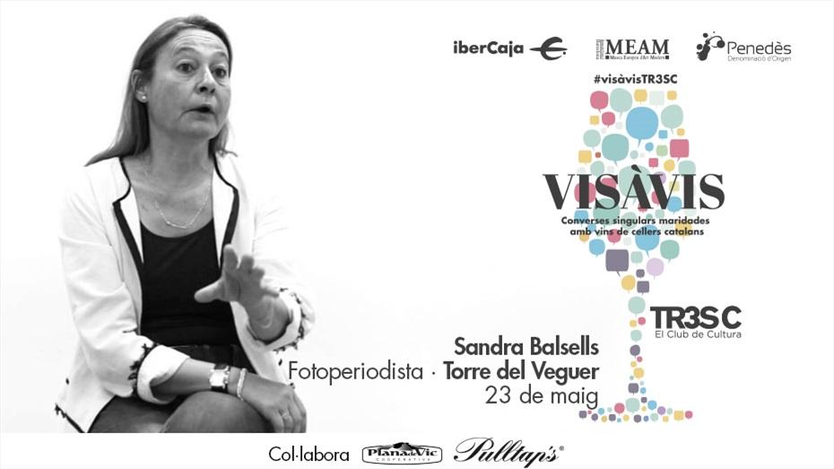 #VisàVisTR3SC amb Sandra Balsells i Torre del Veguer