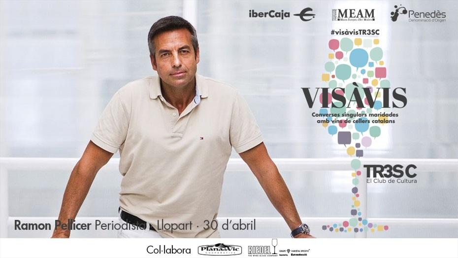 #VisàvisTR3SC amb Ramon Pellicer i Llopart