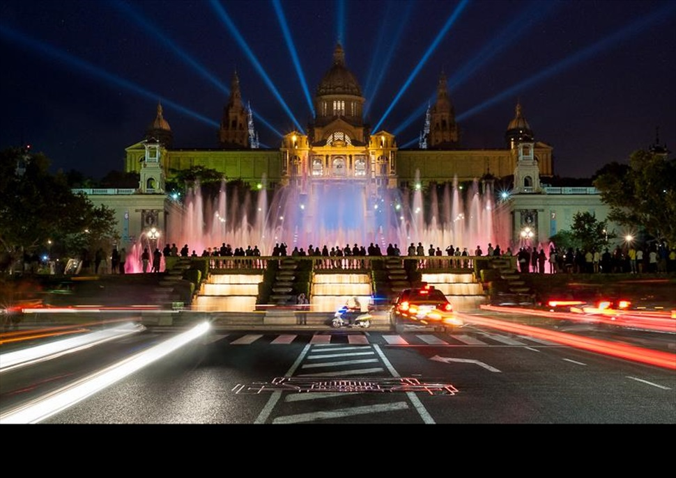 Materia BCN: La màgia nocturna de Montjuïc