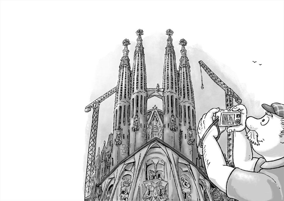 Gimcana detectivesca-literària per la Sagrada Família