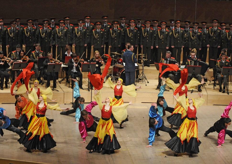 Cor, ballet i orquestra de l'exèrcit rus de Sant Petersburg - 2017/2018