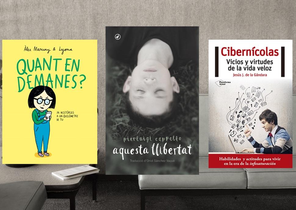 Llibres: Quant en demanes?, Aquesta lliberta i Cibernícolas