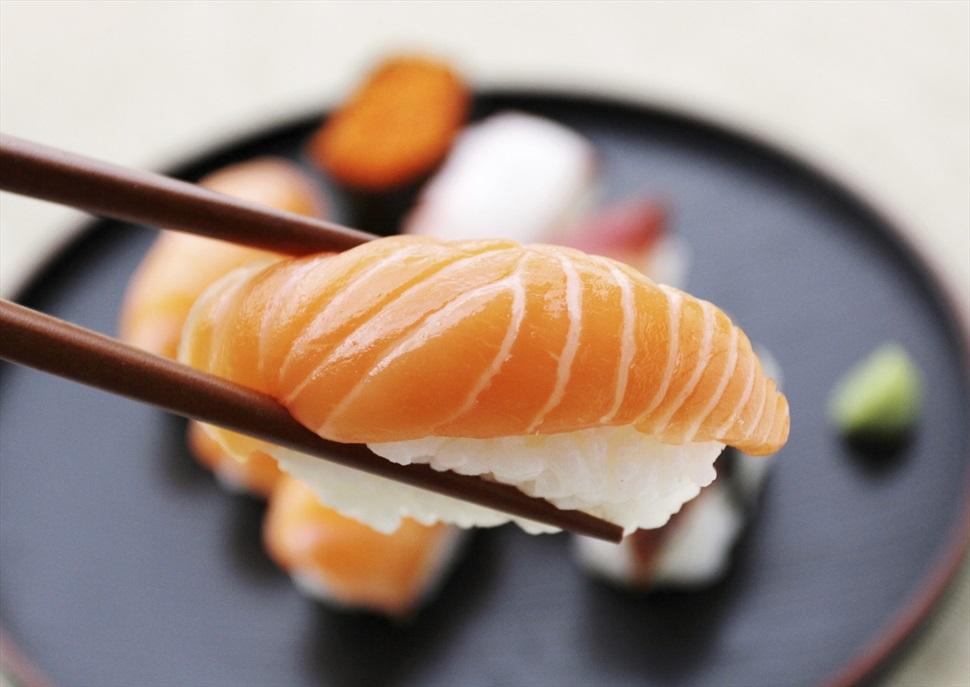 Sushi autèntic japonès amb vins del Penedès