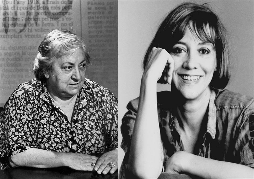 Homenatge a Maria Aurèlia Capmany i Montserrat Roig