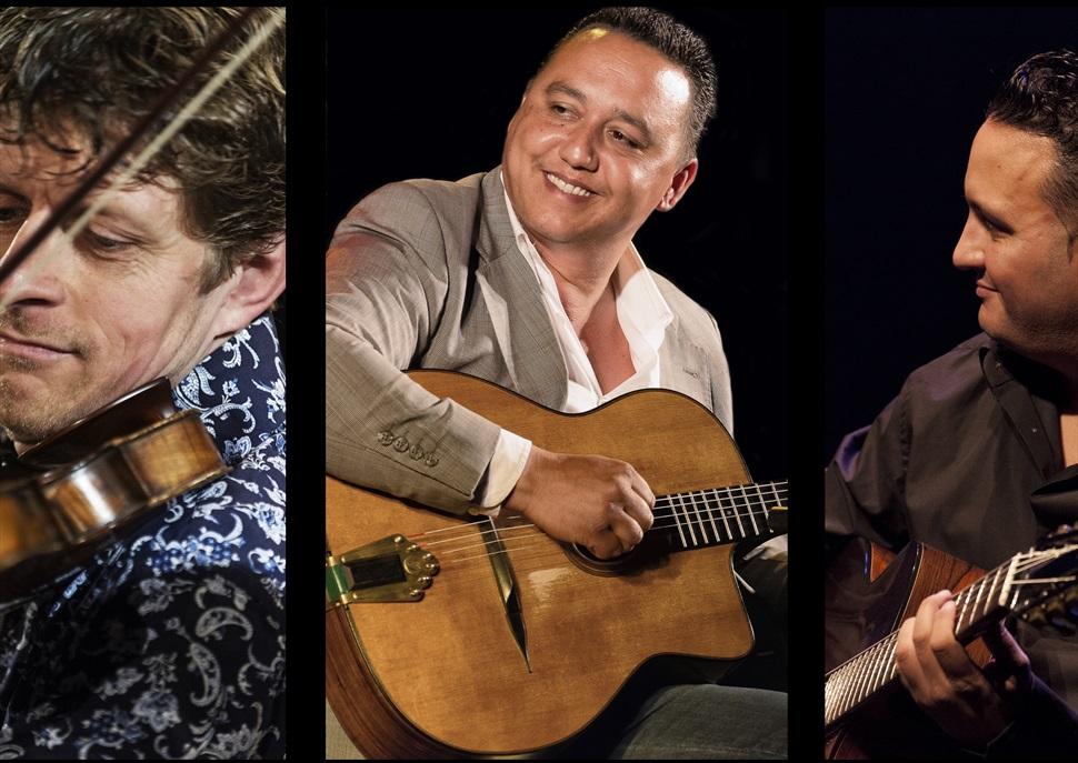 Paulus Schäfer Trio & Tim Kilphius i Mozes Rosenberg