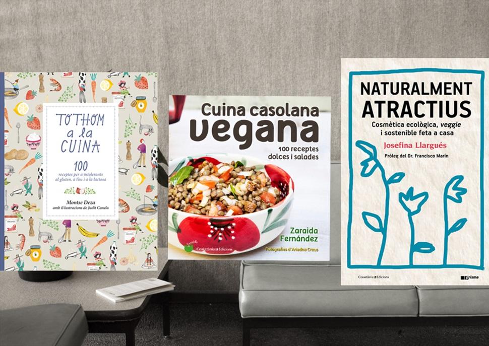 Pack de llibres: Naturalment atractius, cuina casolana vegana, Tothom a la cuina