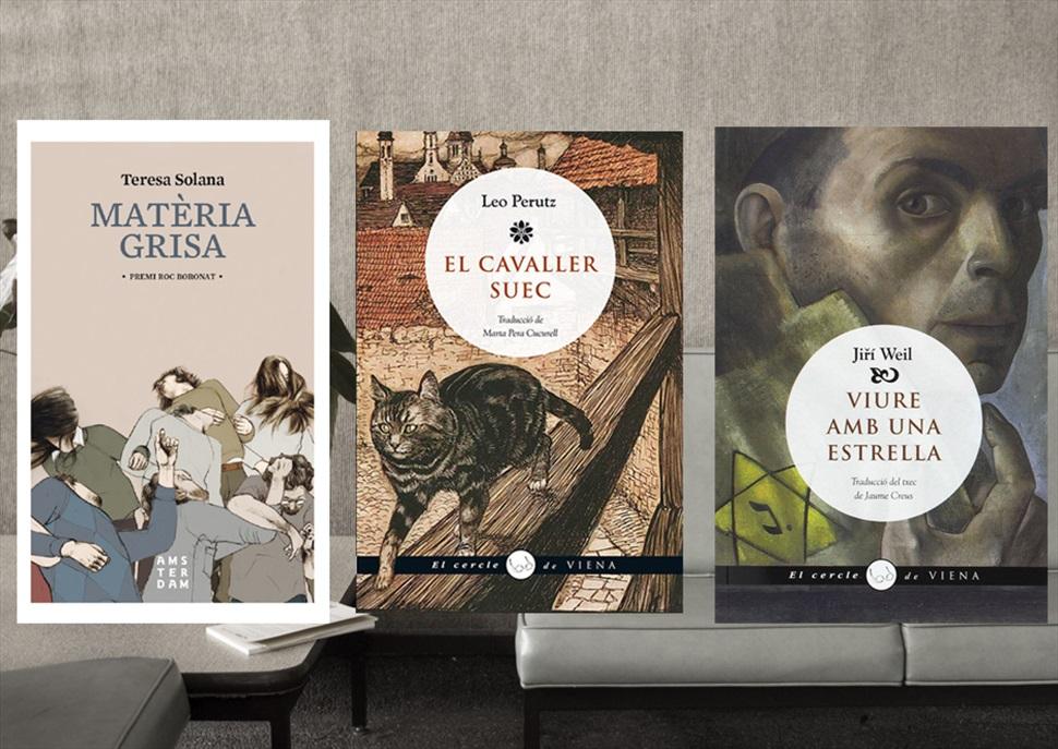 Pack de llibres: Matèria grisa, El cavaller suec, Viure amb una estrella
