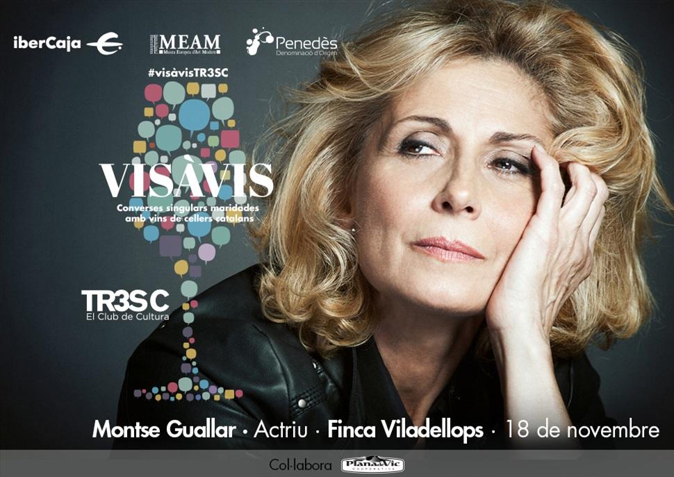 15è Vis à Vis TR3SC amb Montse Guallar i Finca Viladellops